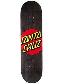 Santa Cruz Classic Dot Black Deck  8.25 x 31.6