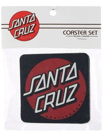 Santa Cruz Classic Dot Coaster Set