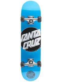 Santa Cruz Classic Dot Cyan Mid Complete 7.25 x 29.9