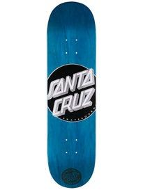 Santa Cruz Classic Dot Cyan Deck 8.0 x 31.6