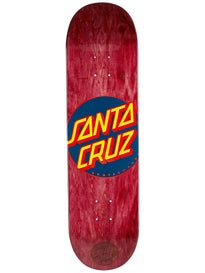 Santa Cruz Classic Dot Burgundy Deck 8.375 x 32