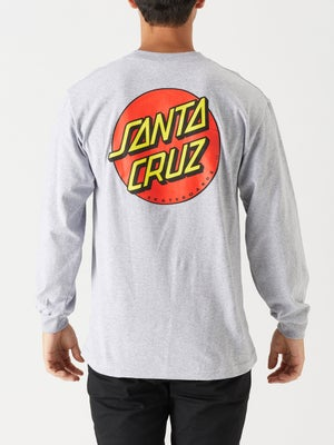 Classic Dot Longsleeve Tee SM Athletic Heather