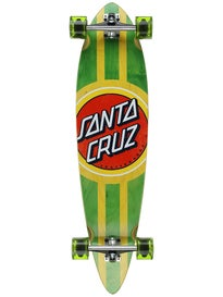 Santa Cruz Classic Dot Pintail Complete  9.6 x 39