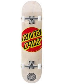 Santa Cruz Classic Dot White Complete 7.7 x 31.4
