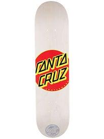 Santa Cruz Classic Dot White Deck  7.7 x 31.4