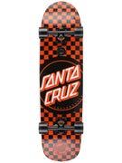 Santa Cruz Check Dot Cruzer Complete  8.5 x 31.9