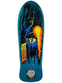 Santa Cruz OBrien Reaper Blue Stain Deck 9.8 x30