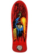 Santa Cruz O'Brien Reaper Red Deck  9.85 x 30