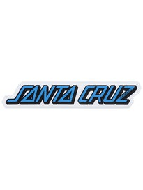Santa Cruz Classic Strip 5 Sticker\ Blue