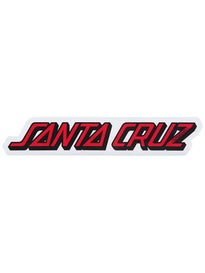 Santa Cruz Classic Strip 5 Sticker\ Red