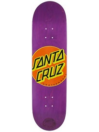 Santa Cruz Classic Dot Purps Deck  8.5 x 32.2