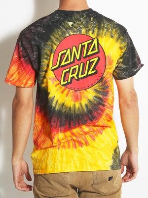 Santa Cruz Classic Dot Tie Dye Tee SM Kingston