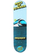 Santa Cruz Dressen Boys Of Summer Deck  8.0 x 31.5