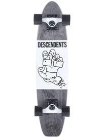 Santa Cruz Descendents Screaming Milo Cruzer 6.8x28.95
