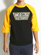 Santa Cruz Double Crossed 3/4 Sleeve Raglan
