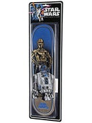 Santa Cruz x Star Wars Droids LTD Deck  8.375 x 32