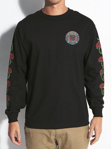 Santa Cruz Dressen Roses Longsleeve T-Shirt