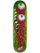 Santa Cruz Eye Pod Green Deck  8.5 x 31.85