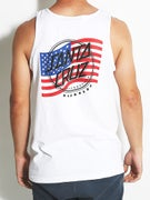 Santa Cruz Flagged USA Tank Top