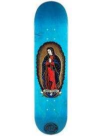 Santa Cruz Jessee Guadalupe Blue N Gold Deck 7.7 x 31.4