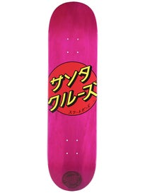 Santa Cruz Japan Dot Pink Deck 8.0 x 31.6