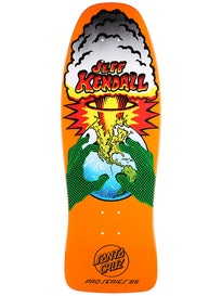 Santa Cruz Kendall End Of The World Orange Deck 10x29.7