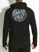 Santa Cruz Lost Dot Hoodzip