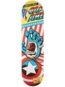Santa Cruz x Marvel Captain America Hand Deck 8.26x31.7