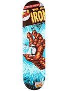 Santa Cruz x Marvel Iron Man Hand Deck 8.0 x 31.6
