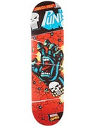 Santa Cruz x Marvel Punisher Hand Deck 8.375 x 32