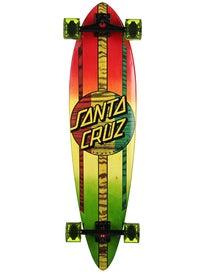 Santa Cruz Mahaka Rasta Fade Pintail Cruzer  9.58 x 39