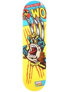 Santa Cruz x Marvel Wolverine Hand Deck  8.25 x 32
