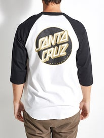 Santa Cruz Other Dot 3/4 Sleeve Raglan