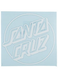 Santa Cruz TDC Opus Dot 6 Sticker\ White