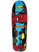 Santa Cruz O'Brien Mutant City Blue Deck  9.75 x 31.86