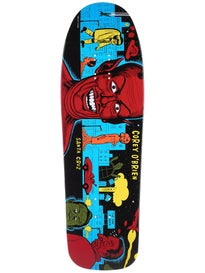Santa Cruz OBrien Mutant City Blue Deck\ 9.75 x 31.86