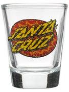 Santa Cruz Psychedelic Dot Shot Glass