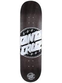 Santa Cruz Paisley Dot Deck  8.375 x 32