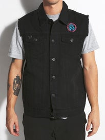 Santa Cruz Patched Vest Jacket