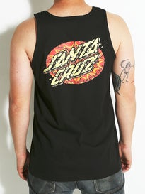 Santa Cruz Psychedelic Dot Tank Top