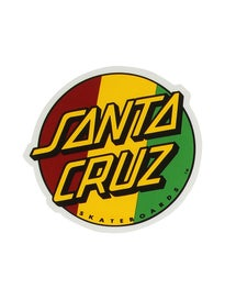 Santa Cruz Rasta Dot 3 Sticker