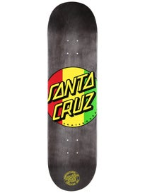 Santa Cruz Rasta Dot Deck  8.3 x 32
