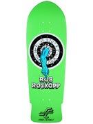 Santa Cruz Roskopp Target 1 Fluoro Green Deck 10 x 31.4