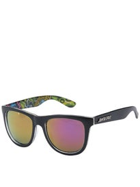 Santa Cruz Slime Balls Vomit Eighties Sunglasses Black