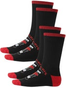 Santa Cruz Screaming Socks 2Pk.