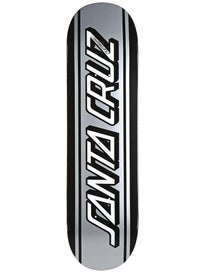 Santa Cruz Silver Classic Strip Deck  8.6 x 32.3