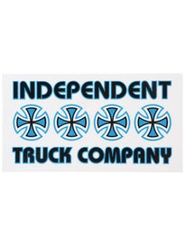 Independent Stacked Color Sticker Blue