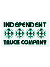 Independent Stacked Color Sticker Green