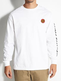 Santa Cruz Small Dot Longsleeve T-Shirt