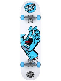 Santa Cruz Screaming Hand White Complete  7.7 x 31.2
